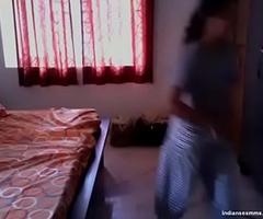 Beautiful desi girlfriend rough sexual intercourse with swain