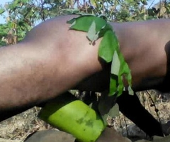 Tarzan Old crumpet Sex In Jungle Wood (Short)