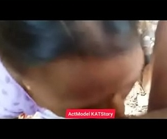 Desi aunty Blowjob sex be expeditious for money