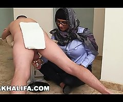 MIA KHALIFA - Your Favorite Arab Pornstar Milking Two Cocks Merely For Fun