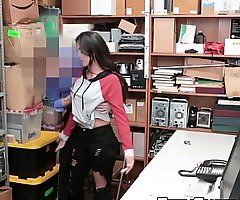 Naughty Latina Sophia Leone group-fucked be fitting of shoplifting