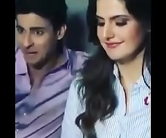indian bollywood actress zareen khan unmixed sexual intercourse fucked flick