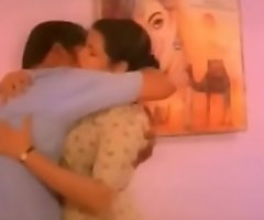 Malayalam actress'_s hot beamy boobs pressing and squeezing and engulfing and liplock
