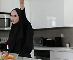 Ebony Sister In Hijab Screwed By Brother- Milu Blaze
