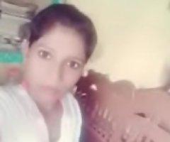 Indian desi school girl showings her bare body